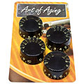Crazyparts Art of Aging Aged Black 50s Speedknobs 4x « Potiknopf