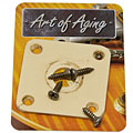 Crazyparts Art of Aging '50s Jackplate, Ivory, Rounded « Buchsenplatte