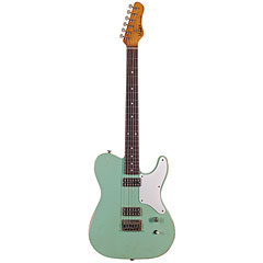 Haar Traditional T aged, Surf Green « E-Gitarre