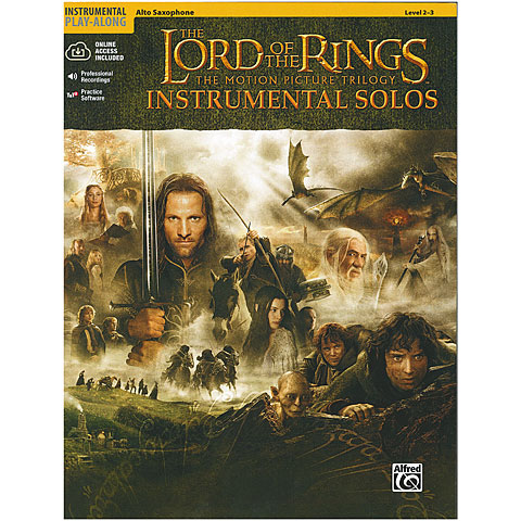 Warner The Lord of the Rings Trilogy for Alt-Sax inkl.CD
