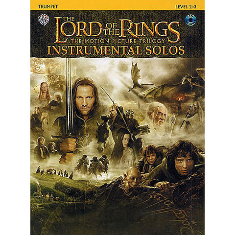 Warner The Lord of the Rings Trilogy for Trumpet inkl.CD