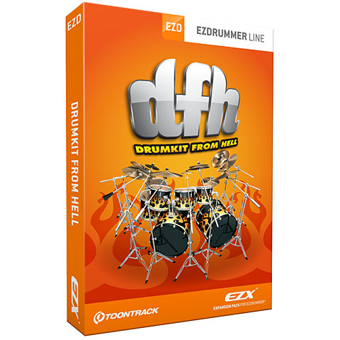 Synthétiseurs virtuels Toontrack Drumkit From Hell EZX