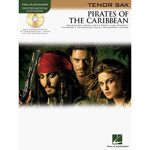 Hal Leonard Pirates of the Caribbean for Tenor-Sax