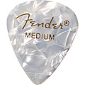 Fender 351 White Moto, thin (12 Stk.) « Plektrum